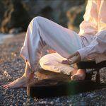 banco meditación plegable